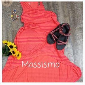 MOSSIMO HI/LO SLEEVELESS DRESS, SIZE SMALL PETITE